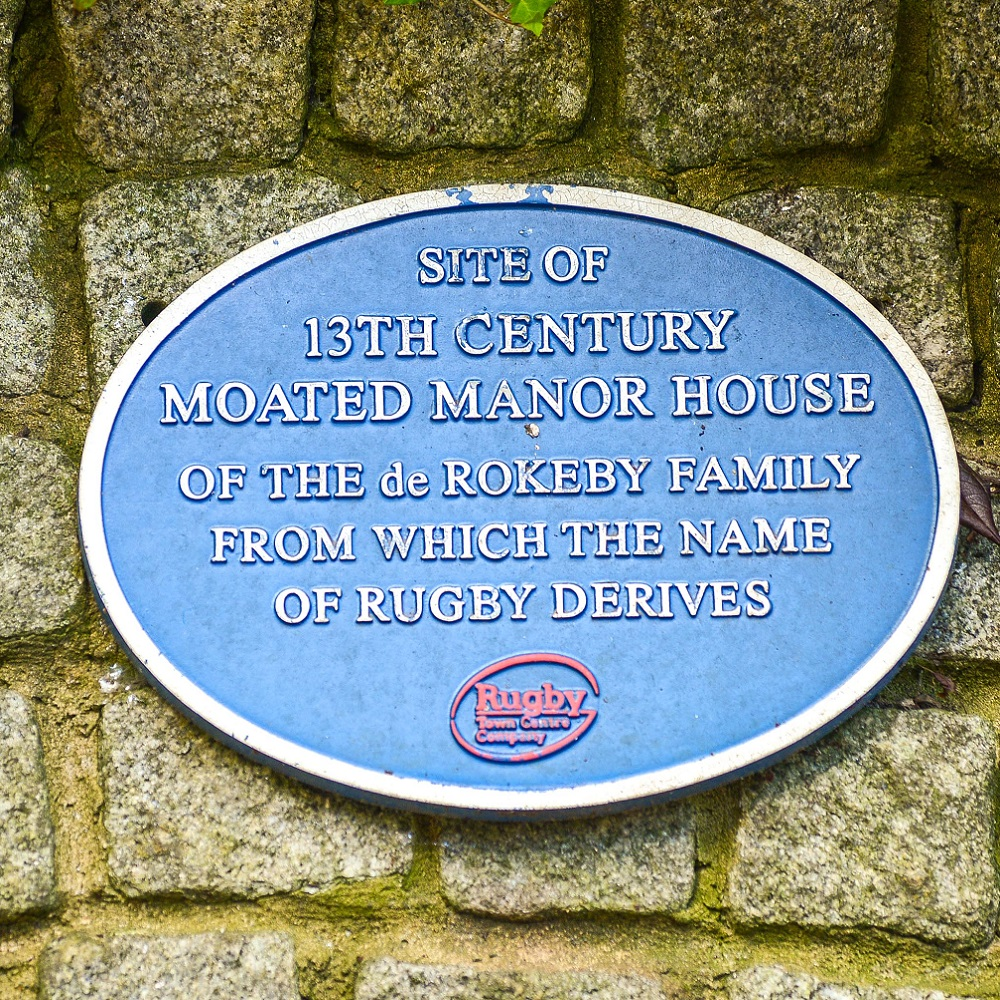 Rugby Blue Plaque