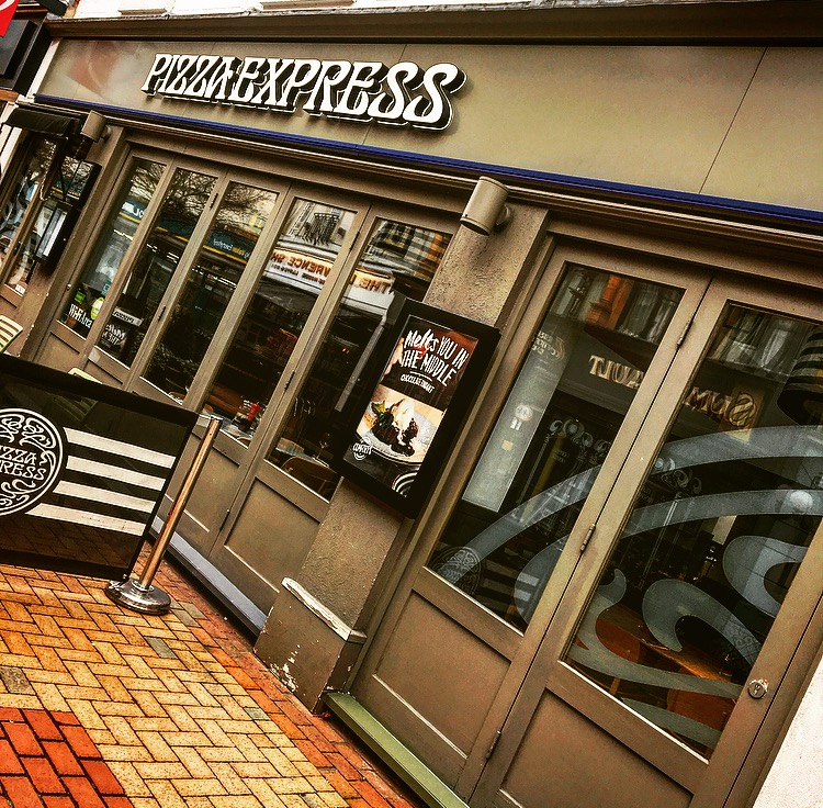 Food And Drink Pizza Express The Rugby Town