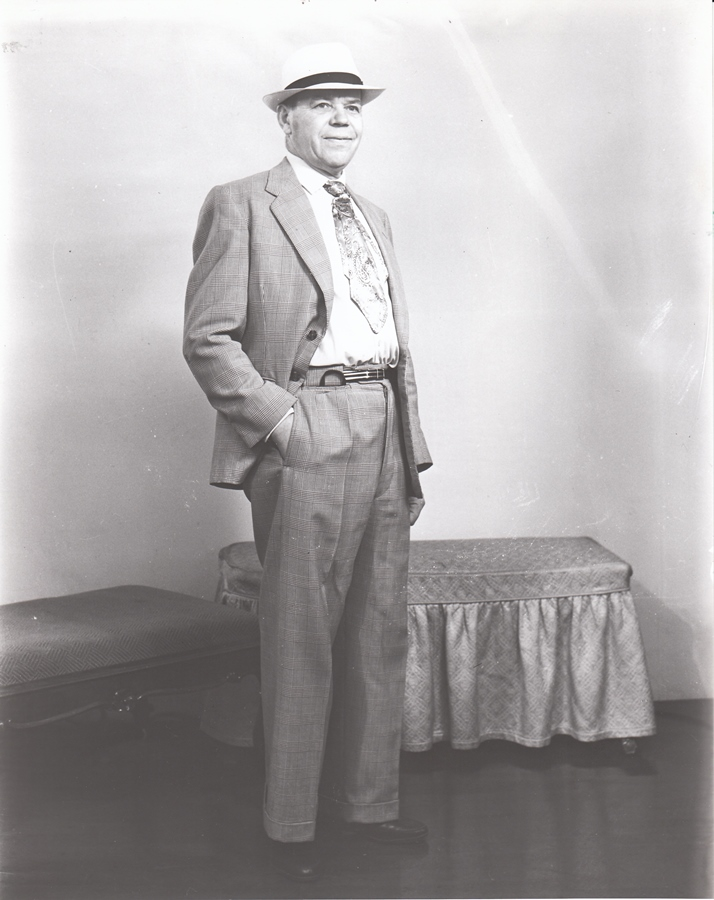 One of the portraits from the Redding photographic collection