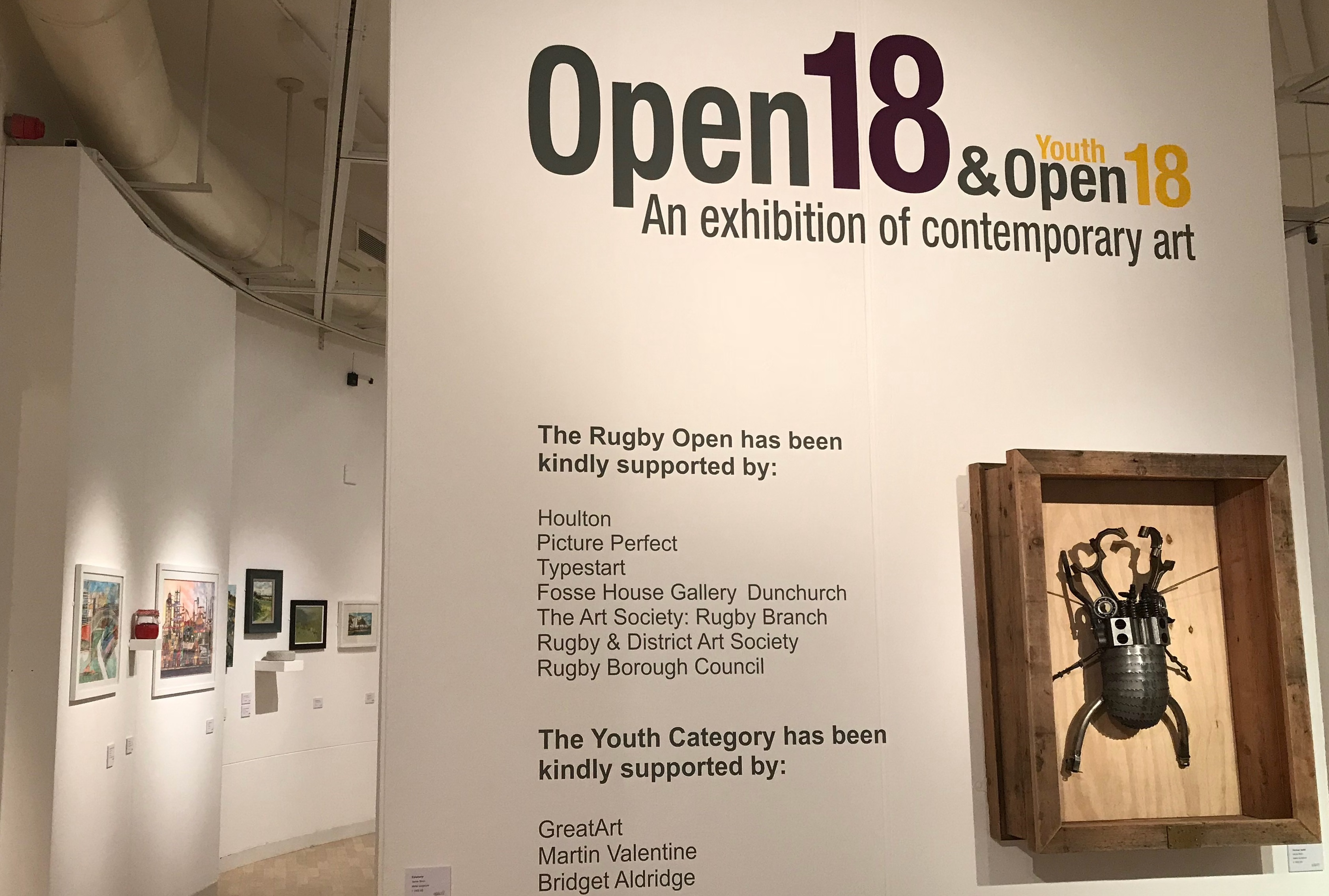 Rugby Open Rugby Art Gallery