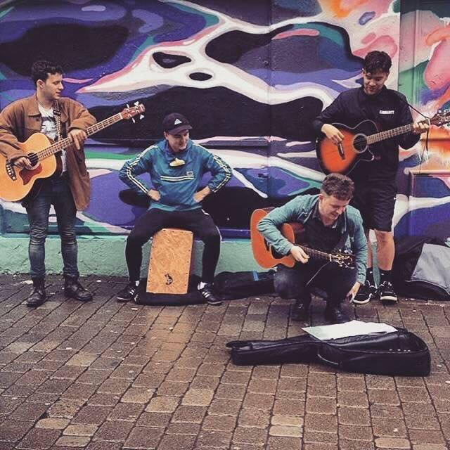 Rugby Festival of Culture: The Gillies Busking Band