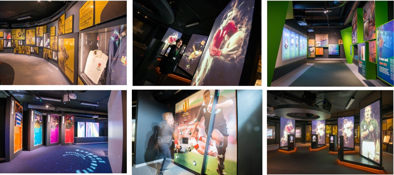 Rugby Hall of Fame Visitor Attraction