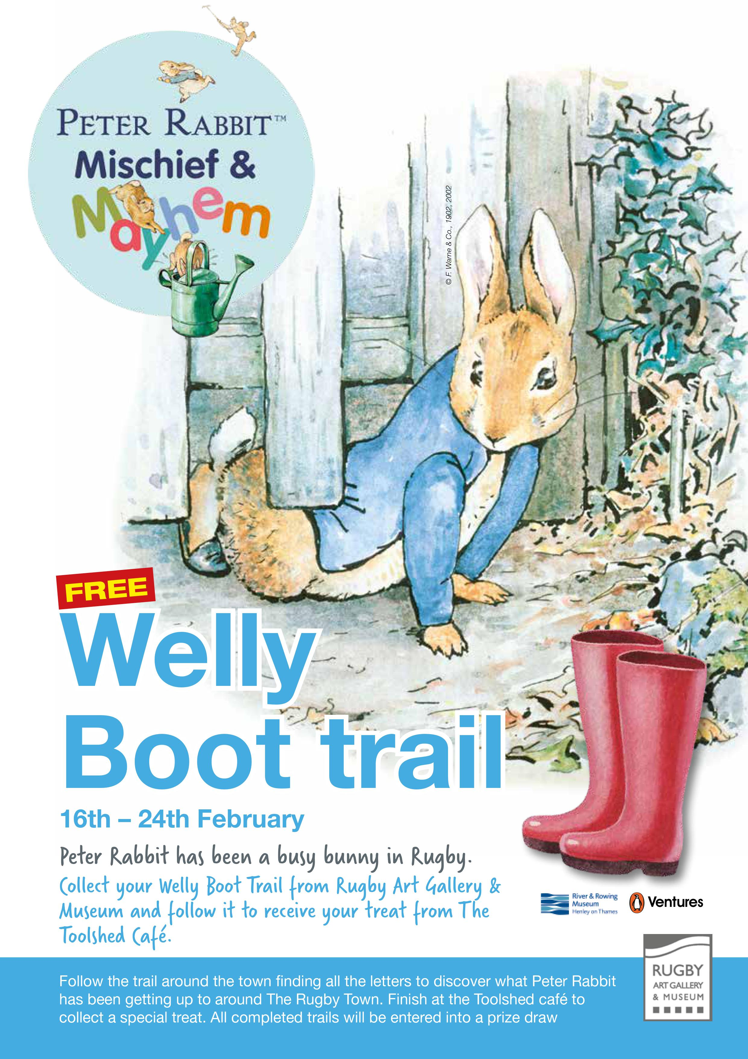 Welly Boot Trail Rugby